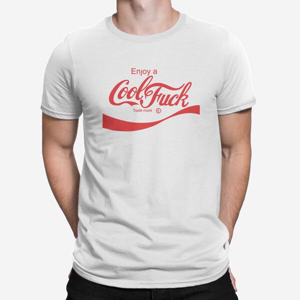 Moška kratka majica Cool Fuck