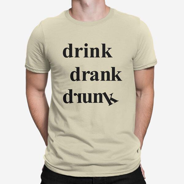 Moška kratka majica Pijan