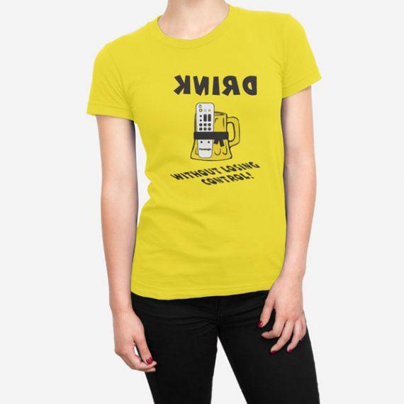 Ženska kratka majica Nadzor piva