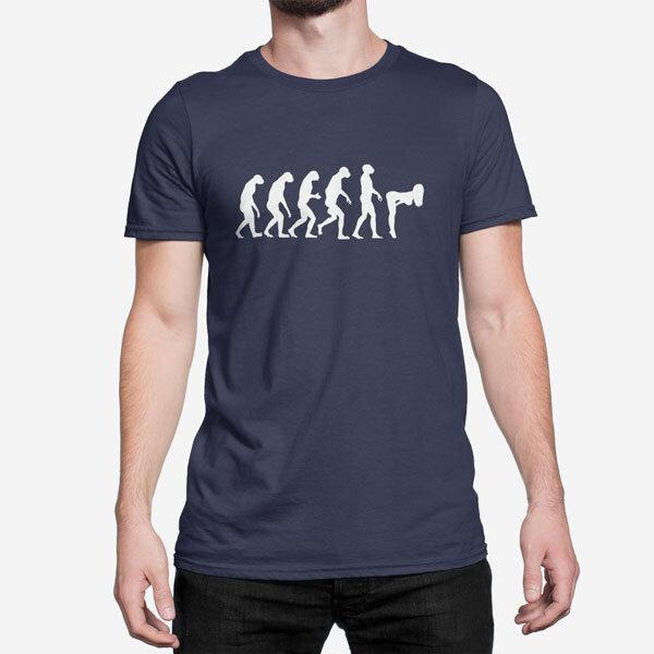 Moška kratka majica Evolucija Seksa