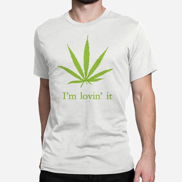 Moška kratka majica Lovin it