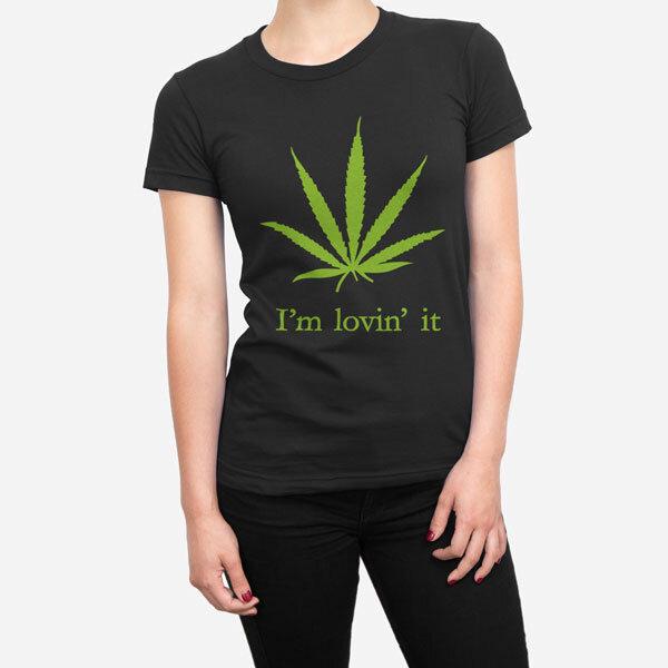 Ženska kratka majica Lovin it