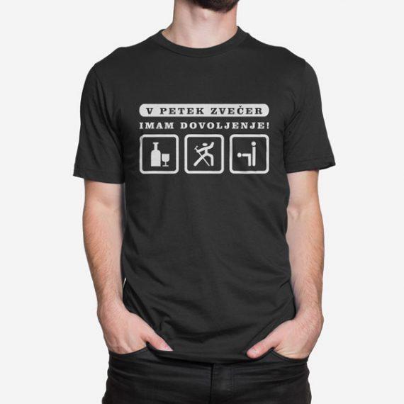Moška kratka majica Imam dovoljenje