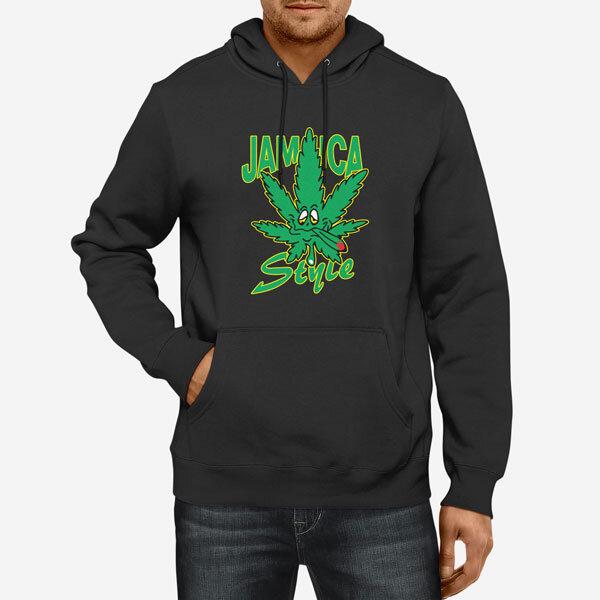 Moški pulover s kapuco Jamaica Style