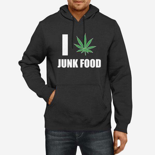Moški pulover s kapuco Junk Food