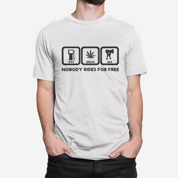 Moška kratka majica Vožnja brezplačno
