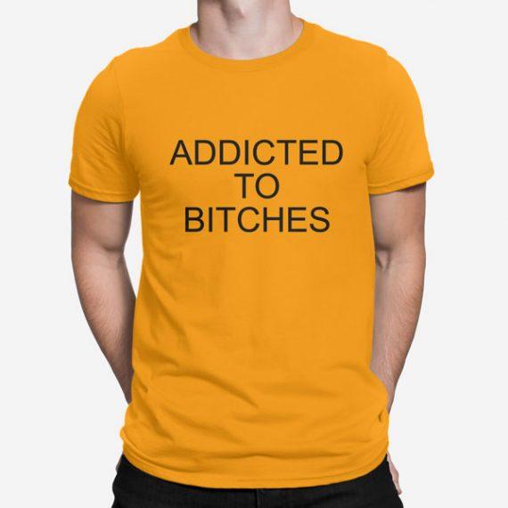 Moška majica kratek rokav Addicted