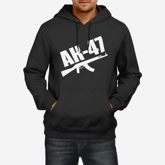 Moški pulover s kapuco AK 47
