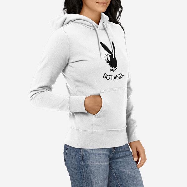 Ženski pulover s kapuco Botanik
