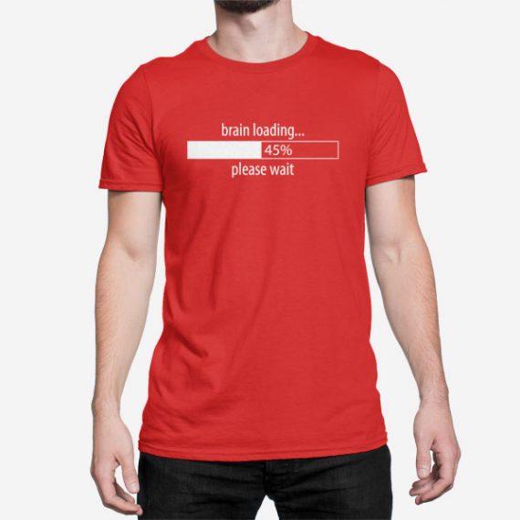 Moška kratka majica Brain Loading