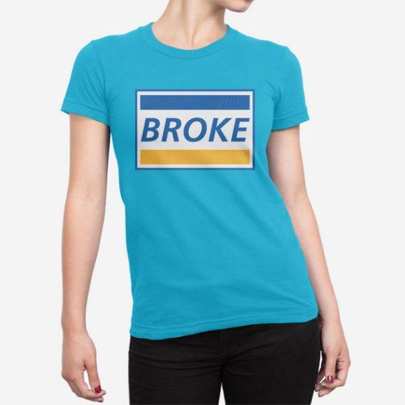Ženska kratka majica Broke