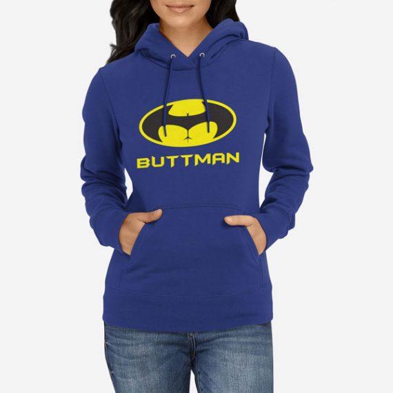 Ženski pulover s kapuco Buttman