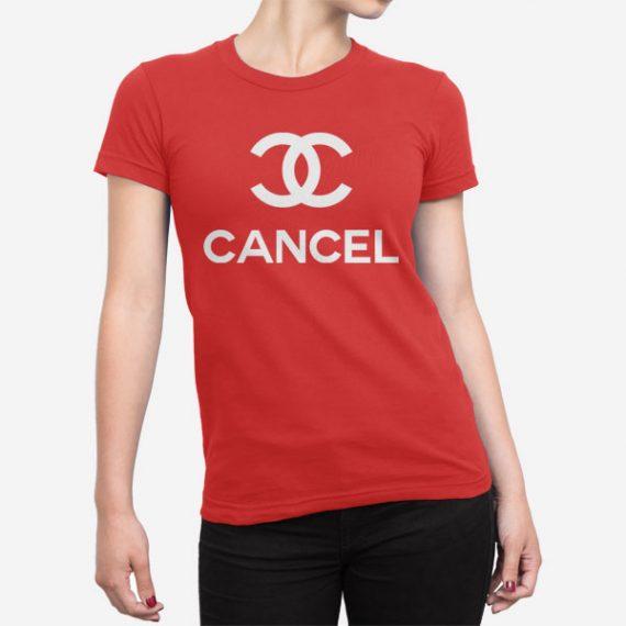 Ženska kratka majica Cancel Chanel