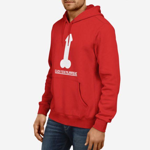 Moški pulover s kapuco Klikni za povečavo