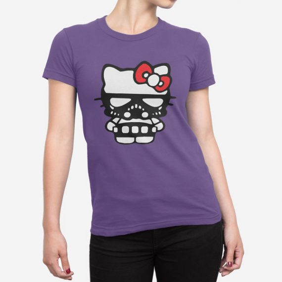 Ženska kratka majica Temna stran Kitty
