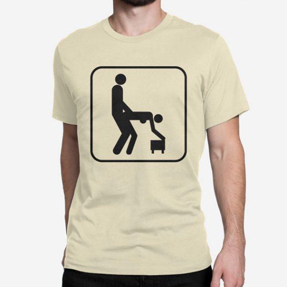 Moška kratka majica Delam