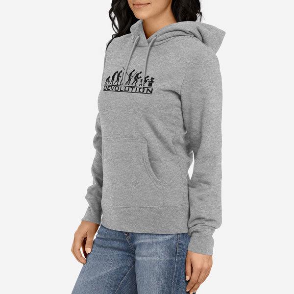 Ženski pulover s kapuco Devolution