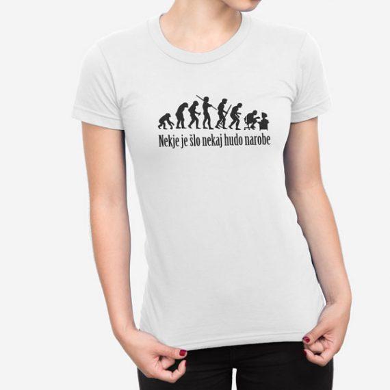 Ženska kratka majica Evolucija