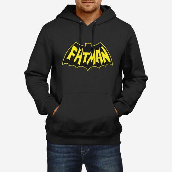 Moški pulover s kapuco Fatman