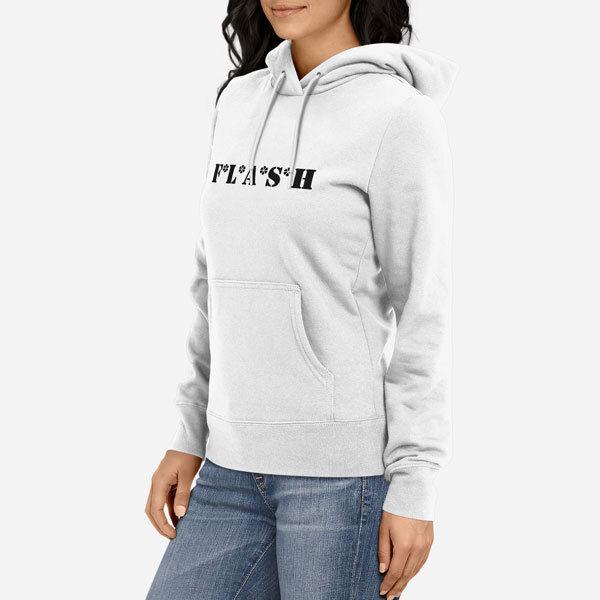 Ženski pulover s kapuco Flash