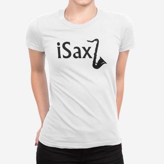 Ženska kratka majica Saksofon