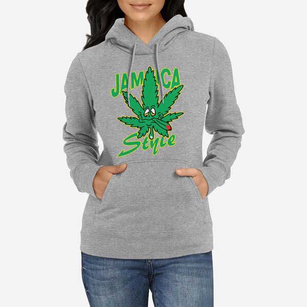 Ženski pulover s kapuco Jamaica Style
