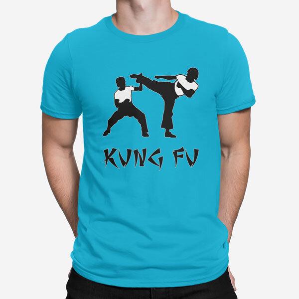Moška kratka majica Kung Fu
