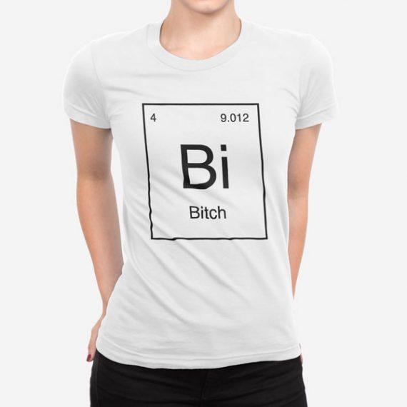 Ženska kratka majica Periodni element Bi