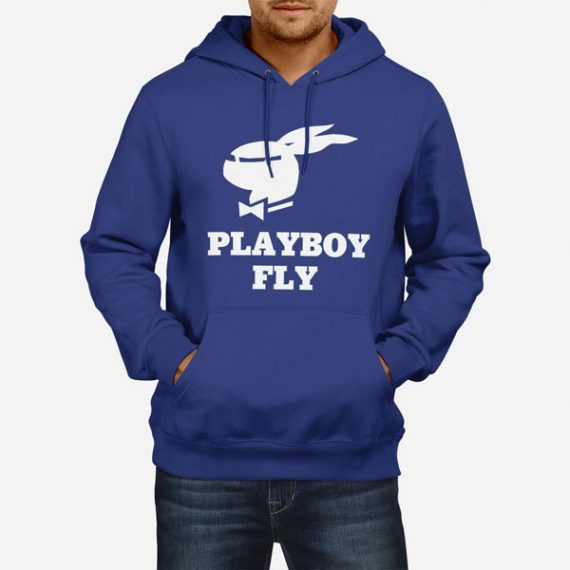 Moški pulover s kapuco Playboy Fly