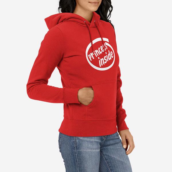 Ženski pulover s kapuco Princess Inside