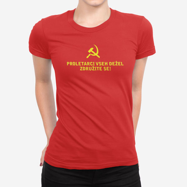 Ženska kratka majica Proletarci