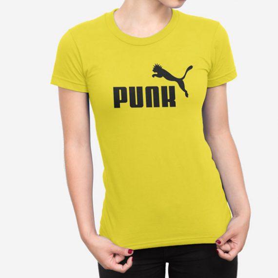 Ženska kratka majica Punk