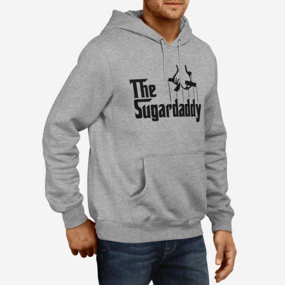 Moški pulover s kapuco The Sugar Daddy