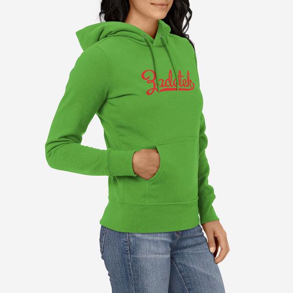 Ženski pulover s kapuco Zadetek