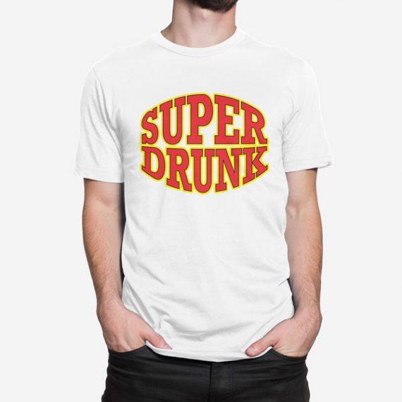 Moška kratka majica Super Drunk