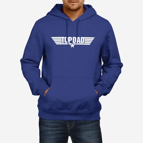 Moški pulover s kapuco Top Dad