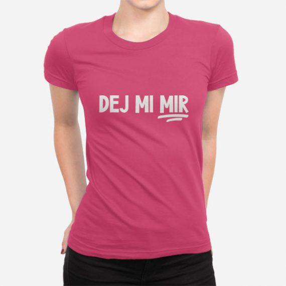 Ženska kratka majica Dej mi mir