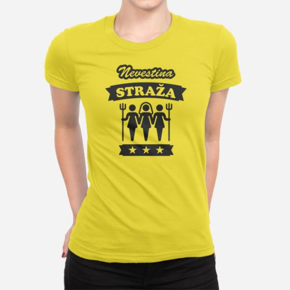 Ženska kratka majica Nevestina straža