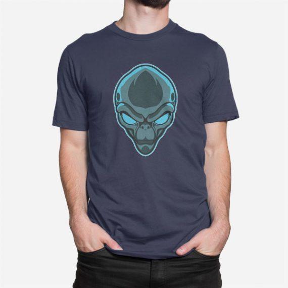 Moška kratka majica Glava Alien
