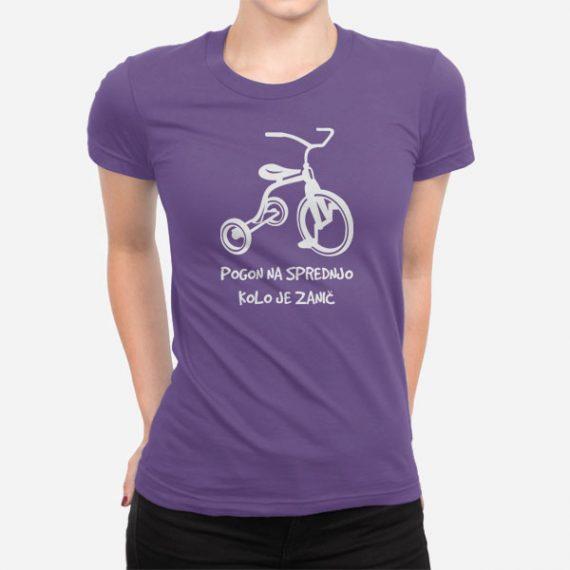 Ženska kratka majica Pogon
