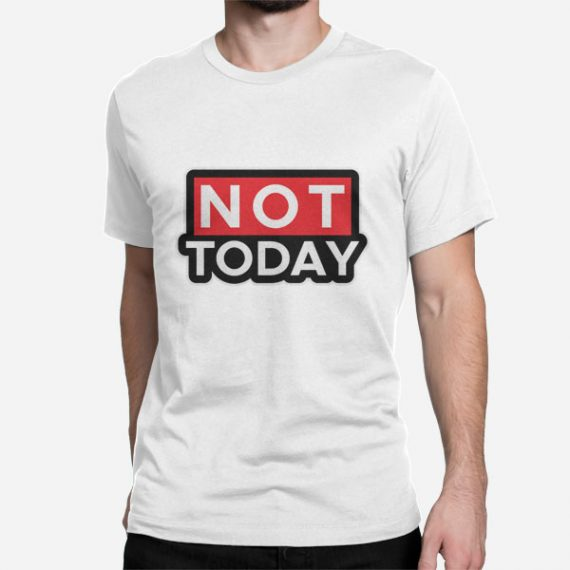 Moška kratka majica Ne danes