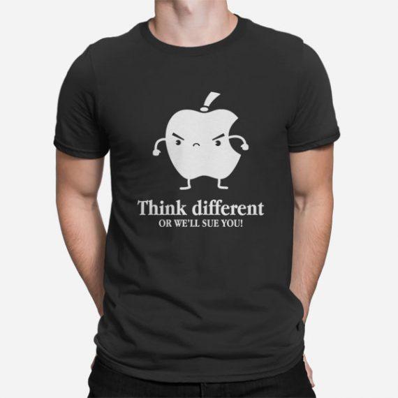 Moška kratka majica Razmišljaj drugače