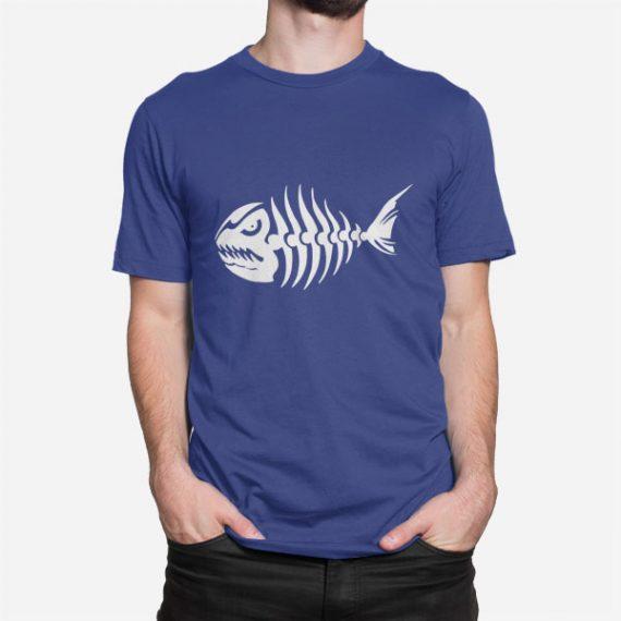 Moška majica Ribja kost