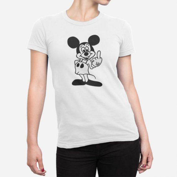 Ženska kratka majica Miki sredinec