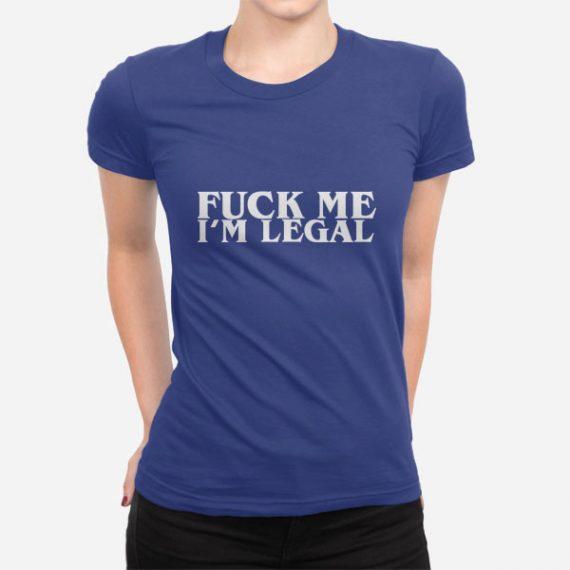 Ženska kratka majica Fuck Me
