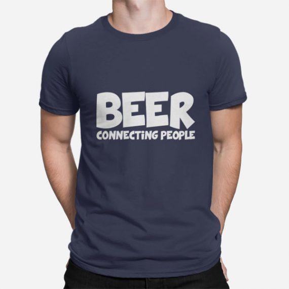 Moška kratka majica Beer Connecting