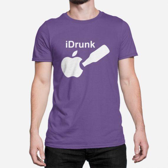 Moška kratka majica iDrunk