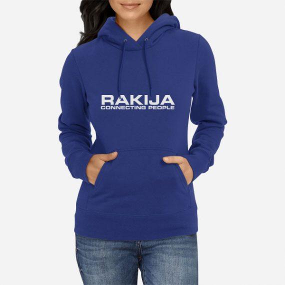 Ženski pulover s kapuco Rakija Connetcing People