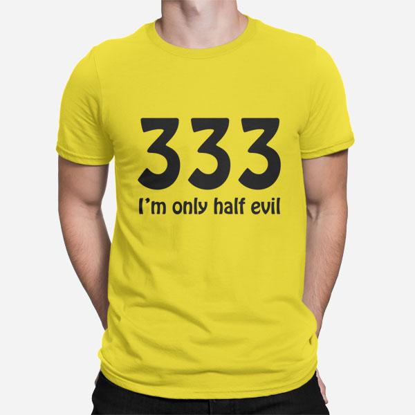 Moška kratka majica 333 half evil
