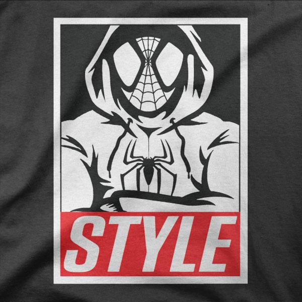 Design Spiderman style